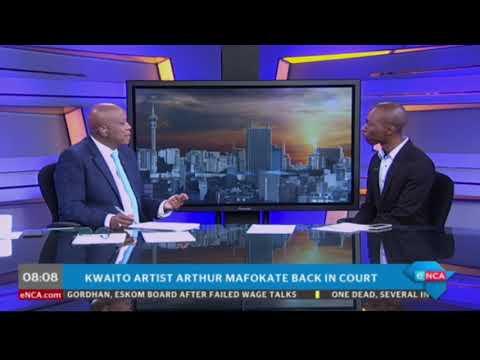 Arthur Mafokate due in court