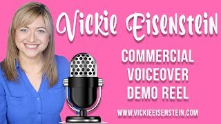 VOICEOVER REEL | Vickie Eisenstein Commercial Voiceover Demo Reel