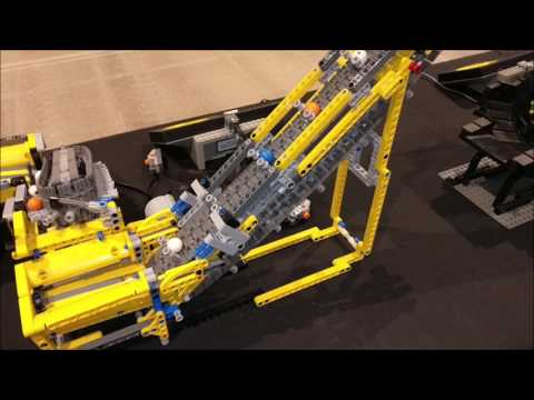 LEGO World 2017 Copenhagen DK GBC Great Ball Contraption