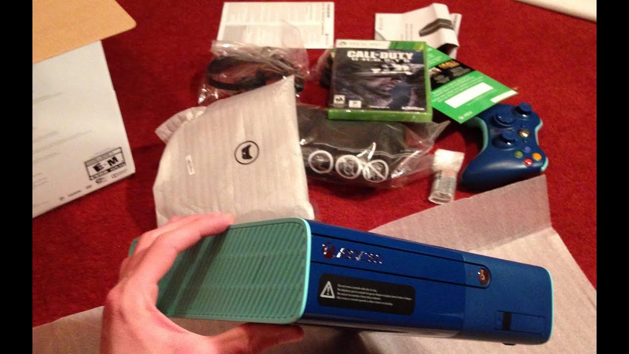 Blue Xbox 360 Bundle Unboxing! (Walmart Special Edition ...