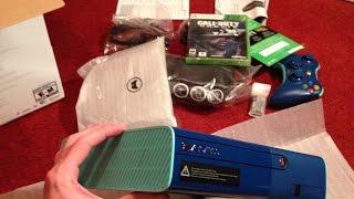 Blue Xbox 360 Bundle Unboxing! (Walmart Special Edition)