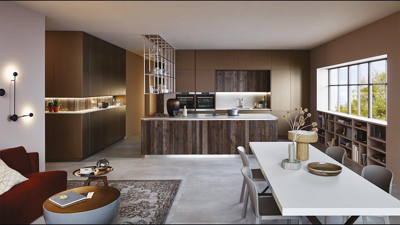 Veneta cucine milano modello lounge youtube for Mobilia store cucine