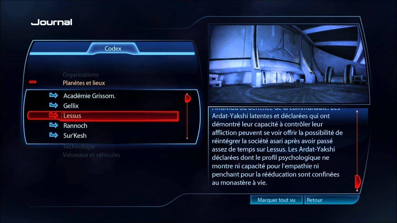 Mass Effect 3 - le Codex : Les Lieux