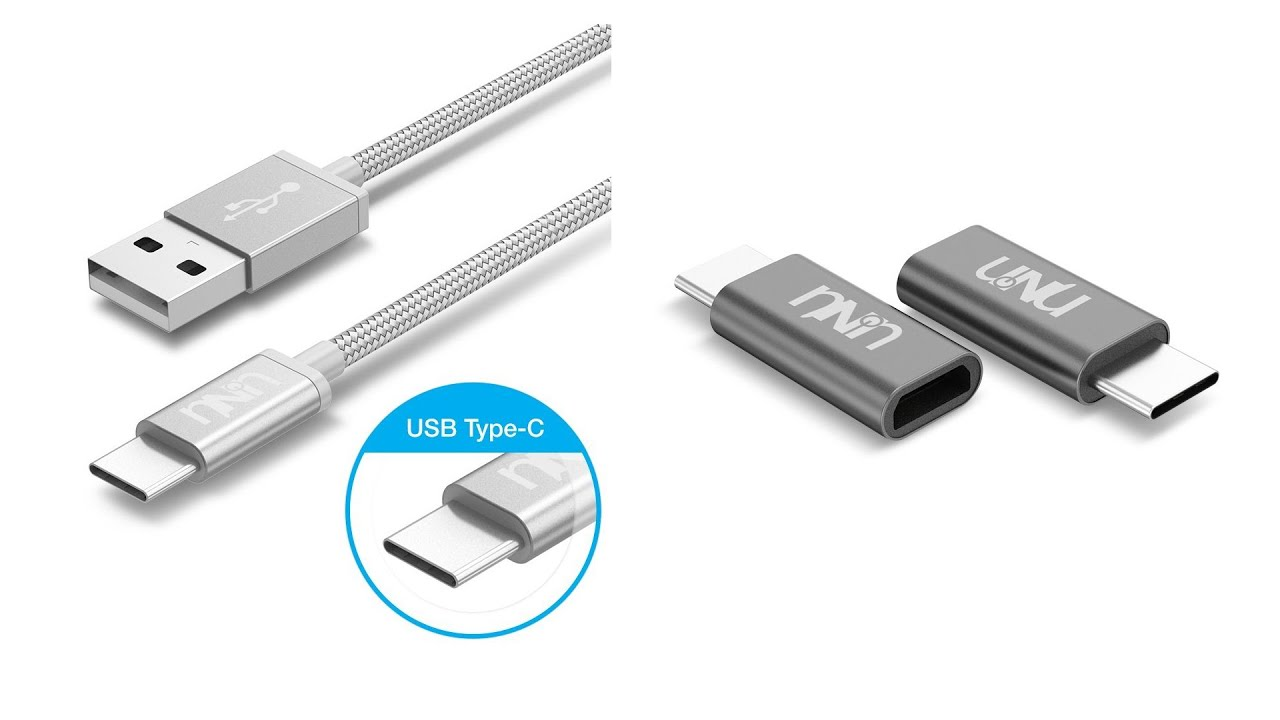 unu usb type c to type a cable micro usb to type c adapter review youtube. Black Bedroom Furniture Sets. Home Design Ideas