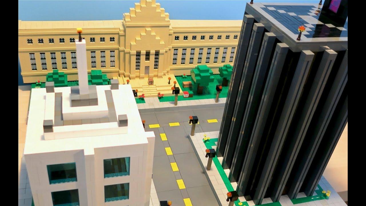 lego minecraft city youtube