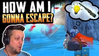 PINNED DOWN! ONLY 1 WAY TO ESCAPE... AWM TIME! PUBG Mobile