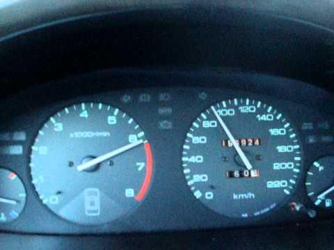 Honda Accord CD7 1996 0-160 km/h