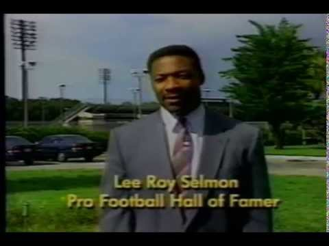 Lee Roy Selmon 1997 HRS Foster Home Program Advertisement