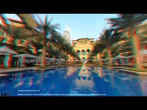 3D Virtual Tour of The Palace Hotel Downtown Dubai Burj Khalifa