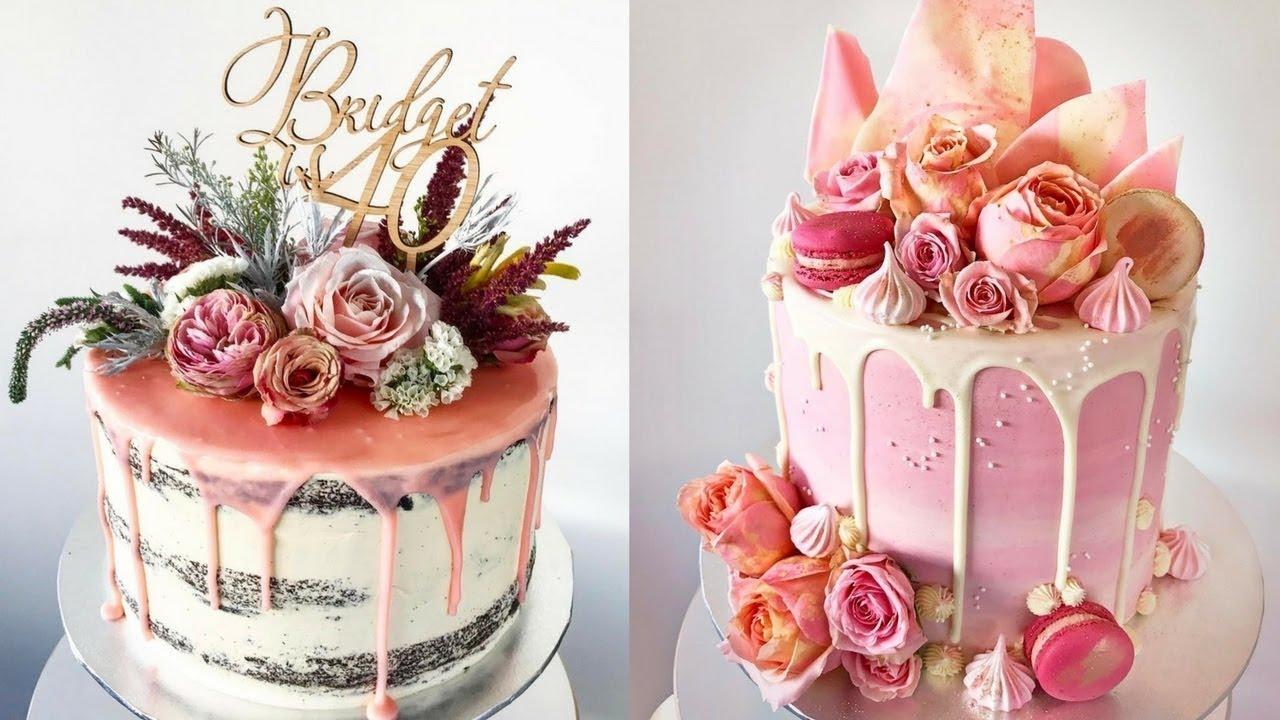 Cake Style 2017 Top 20 Amazing Birthday Cake Women Ideas Oddly Satisfying Cake Decorating Videos Youtube