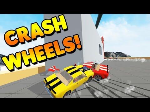 Crash Wheels Game | RACING PHYSICS DESTRUCTION! | Lets Play Crash Wheels Gameplay
