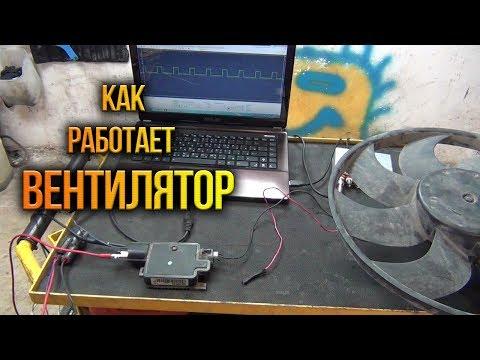 Проверка блока управления вентилятором