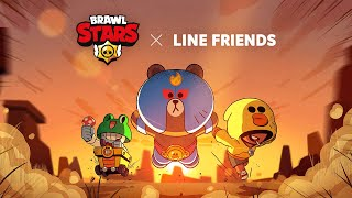 BRAWL STARS X LINE FRIENDS