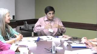 Kiran Bedi Roundtable Discussion