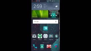Change font for Huawei P8