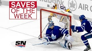 NHL Saves of the Week:  Freddy gets funky