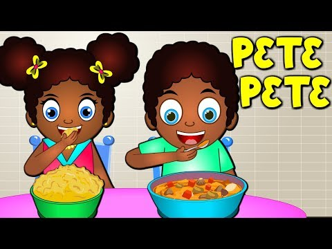 Twi Nursery Rhymes | Pete Pete Akan Children's Song | Ghana Nursery Rhymes