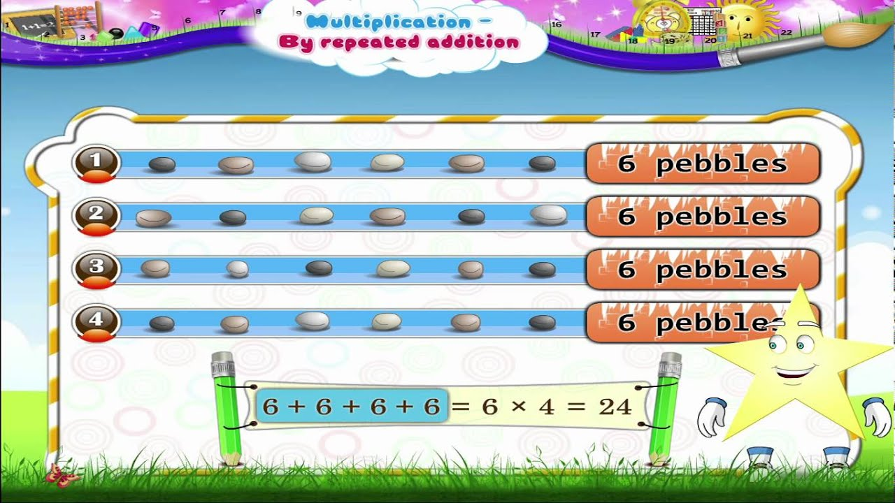 learn grade 2 maths multiplication by repeated addition youtube. Black Bedroom Furniture Sets. Home Design Ideas