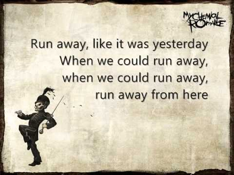 Bulletproof Heart - My Chemical Romance (Lyrics)