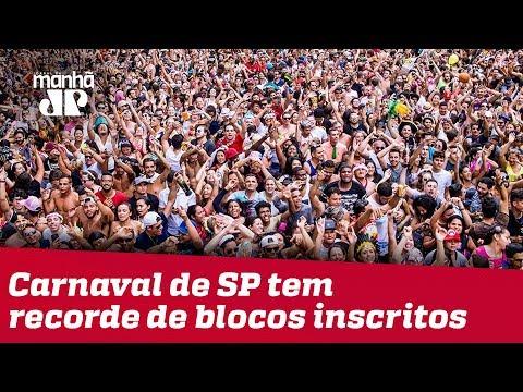 Carnaval de SP tem recorde de blocos inscritos para 2020