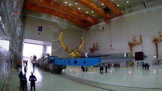 Космодром Восточный: работы в МИКе. РН «Союз - 2.1»
