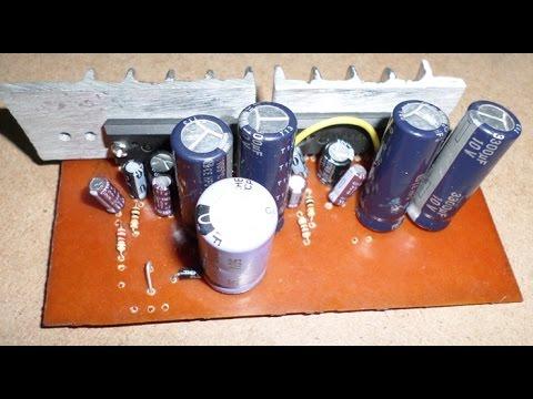 La4440 12v Car Stereo Amplifier Diy Amplifier Pcb Free Youtube
