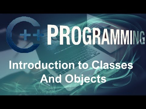 C++ Programming Tutorials – 11 – Introduction to Classes and Objects