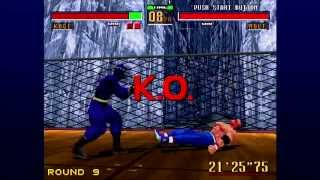 Virtua Fighter 2 (Xbox Live Arcade) Arcade as Kage