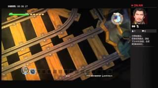 勇者鬥惡龍 建築小玩家 日版 一般玩家自由模式高空環島鐵路建築展示