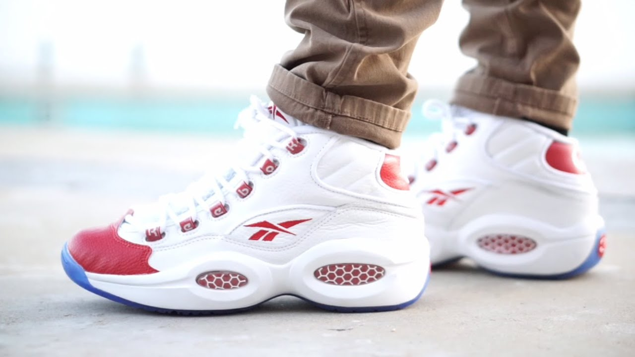 Reebok Question Low Red