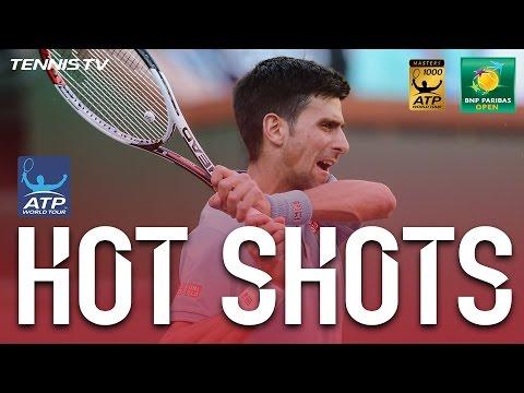 Hot Shot: Djokovic Does The Splits In Indian Wells 2017