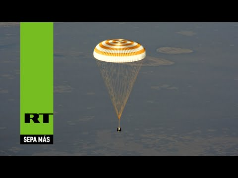 Regresan a la Tierra los tripulantes de la Estación Espacial Internacional