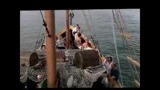 По Мексиканскому заливу на пиратском корабле