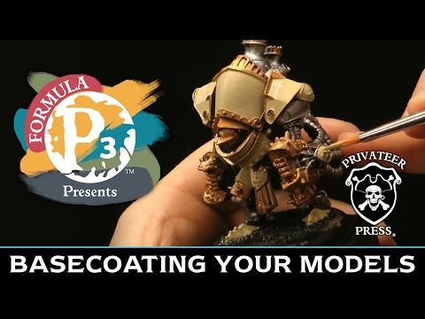 Formula P3 Presents: Basecoating Your Models