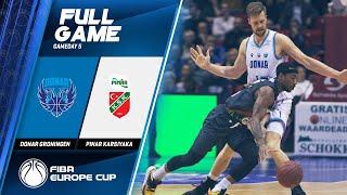Donar Groningen v Pinar Karsiyaka - Full Game - FIBA Europe Cup 2019-20