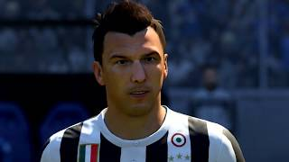 Fifa 18: juventus player faces (ps4/xbone)