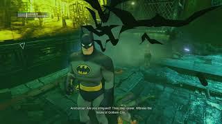 Batman Arkham City RTA 100% Hard Mode Walkthrough part 103, 720p HD (NO COMMENTARY)