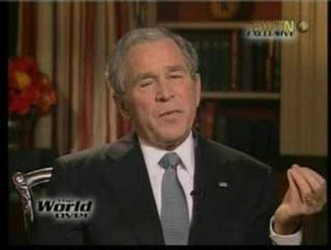 President Bush Sees GOD in Popes eyes