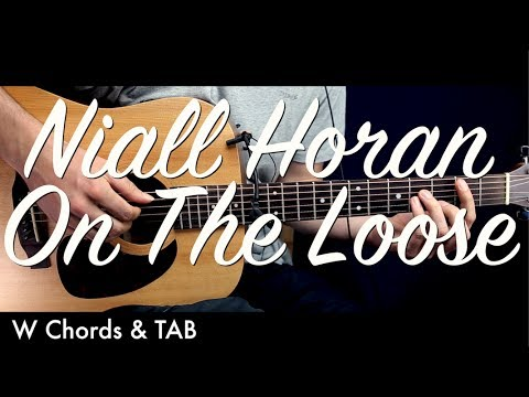 Niall Horan - On The Loose Guitar Lesson Tutorial w Chords & TAB /Guitar Cover by How To Play Easy