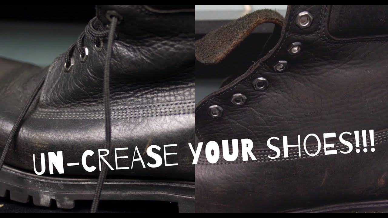 How to Uncrease your Shoes (Jordans