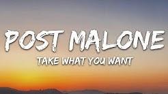Post Malone - Take What You Want (Lyrics) feat. Travis Scott & Ozzy Osbourne