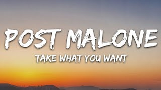 Post Malone - Take What You Want (Lyrics / Lyric Video / Letra ) feat. Travis Scott & Ozzy Osbourne