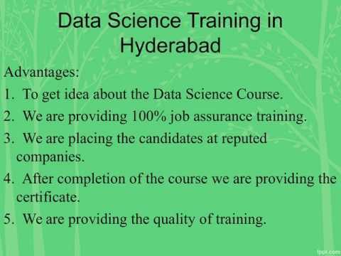 Data Science Training in Hyderabad