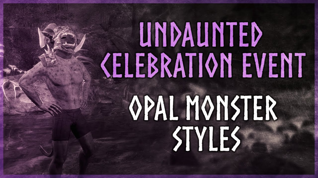 Eso New Life Festival 2020.Eso Undaunted Celebration Event Opal Outfit Styles