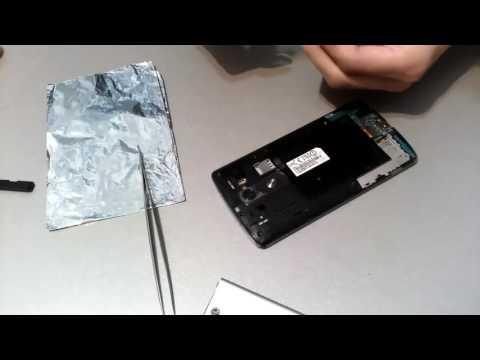 LG G3 D855 синий экран Ремонт blue screen