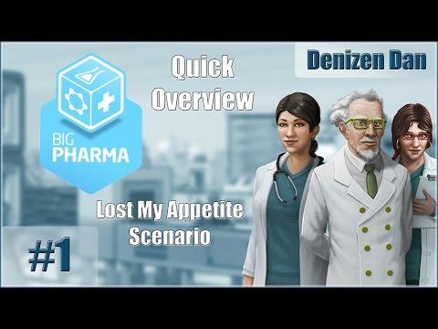 Big Pharma - Gameplay - Quick Look - Lost My Appetite Scenario - Part 1