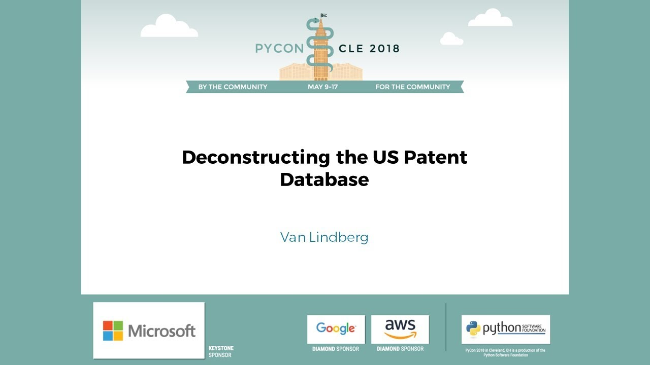 Image from Deconstructing the US Patent Database