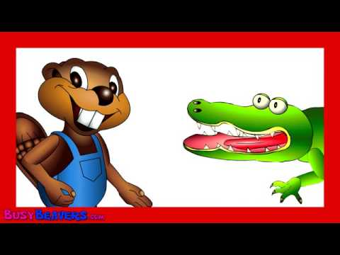 Sing The Alphabet Busy Beavers, Abc Song, Kids Learning