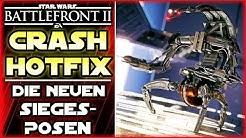 Spielabsturz Fix / Crash Fix -  Neue Siegesposen - Star Wars Battlefront 2 deutsch