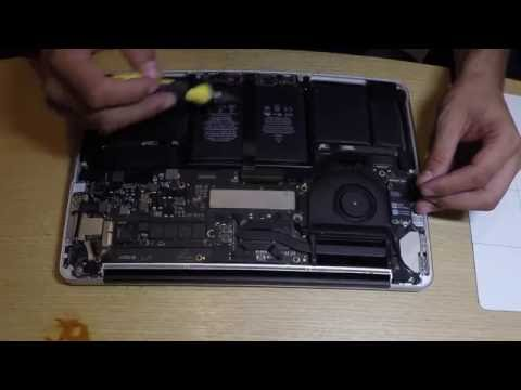 Disassemble Macbook Pro 2014 A1502